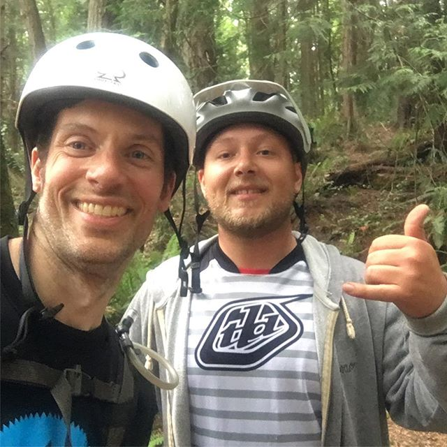 Minor hiccups with scheduling today meant I got to ride down Double Black and Double Down with Chuckanut Shuttles customer Nolan Johnston. It was his first time checking out Chuckanut and my first rip in almost a week. The stoke was high. I repeat the stoke was high! Thanks for checking out the shuttle Nolan! And thanks for the company! - - #thestokeishigh #lifeonthetrails #lovemyjob #goodpeoplegoodtimes #chuckanutshuttles #chuckanut #doubleblacktrail #doubledowntrail #mtb #mountainbike #bellingham #wa