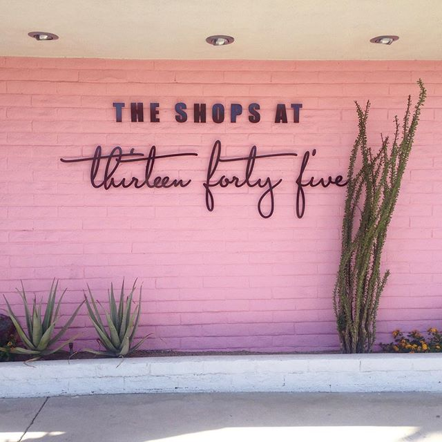 I spy with my little eye something pink!  We're officially open @theshopsat1345  Stop in and shop for some retail therapy 😍😻🤤 #pspinkwall