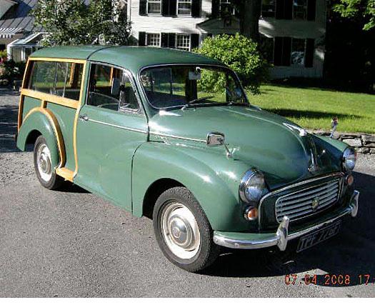 1968 Morris Minor Traveler
