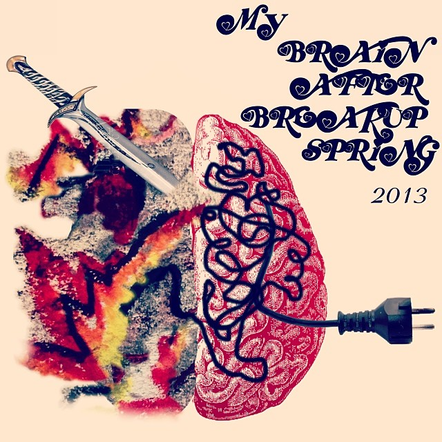 Brain no.5 - After break up, Spring 2013