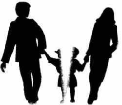 coparenting split child