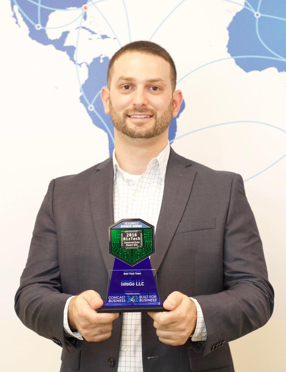 intoGo - 2017 Jax BizTech Award Winner
