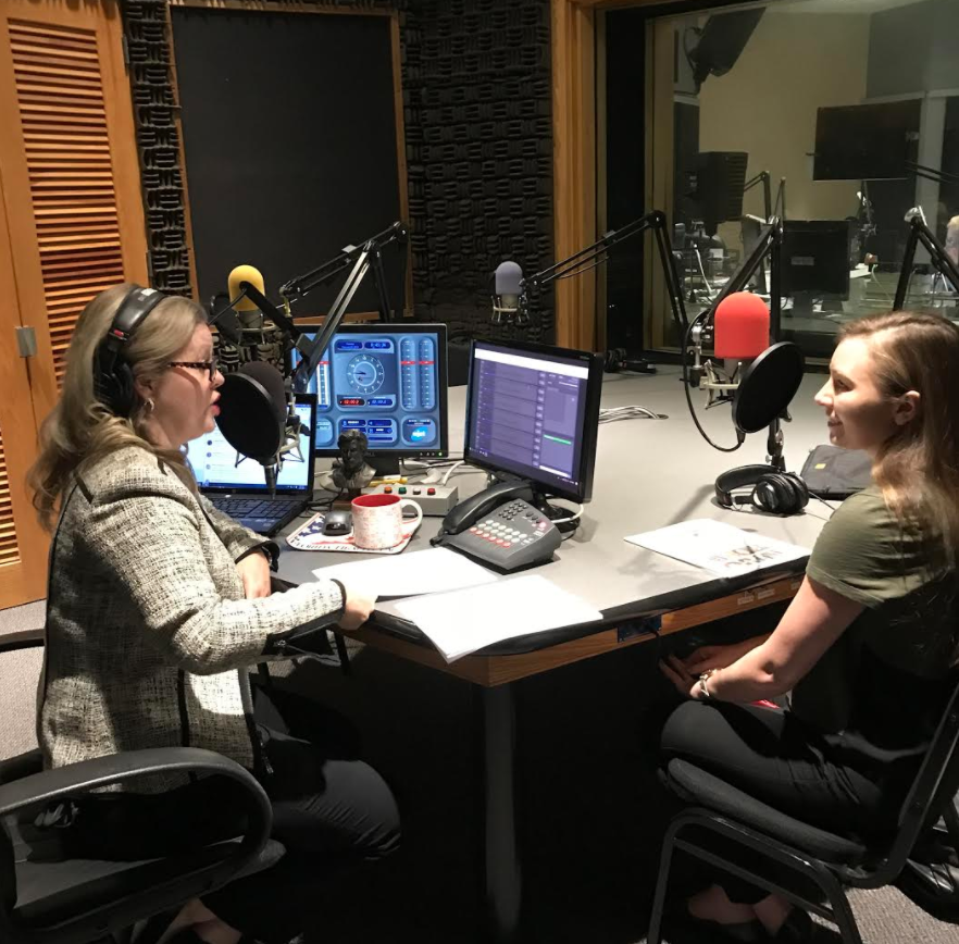 Melissa Ross and Christine McFaul on WJCT First Coast Connect