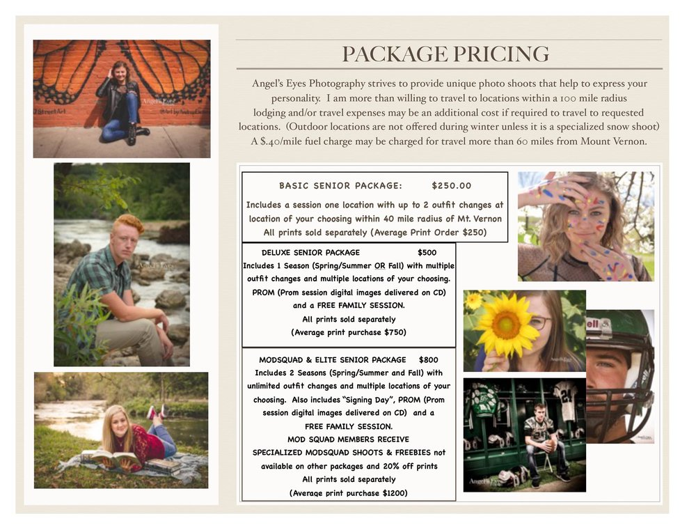 senior wedding packages angel s eyes photography
