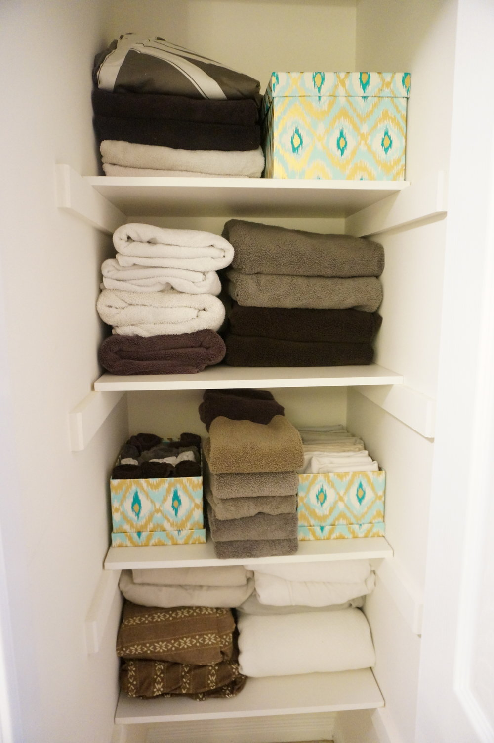 Organize Your Linen Closet Part - 40: Staging And Organizing Your Linen Closet