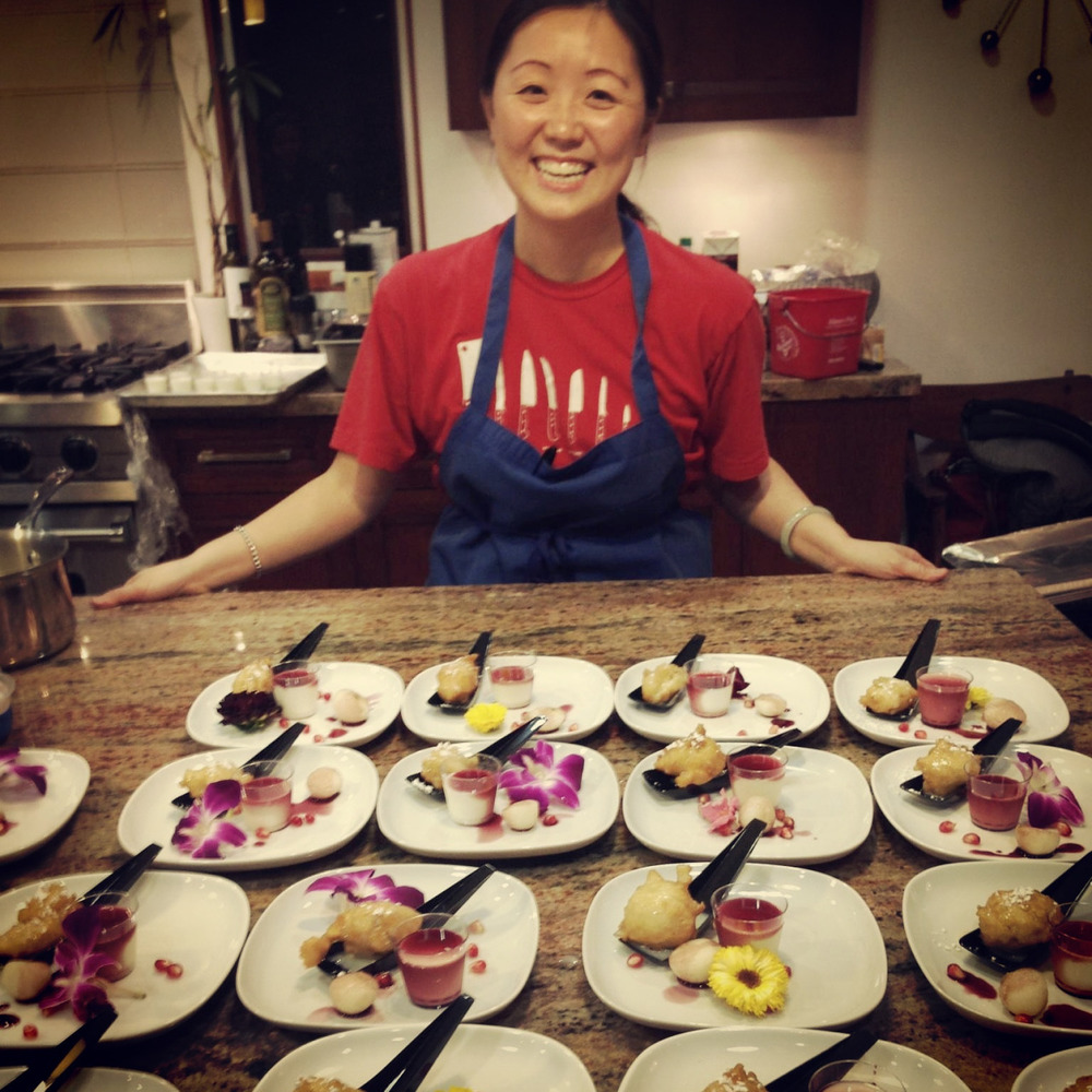 Thi Tran and her amazing food is once again gracing our stomaches on April 18th for the kick-off of the 2015 Eat+Drink Supper CLub season!  Are you IN?