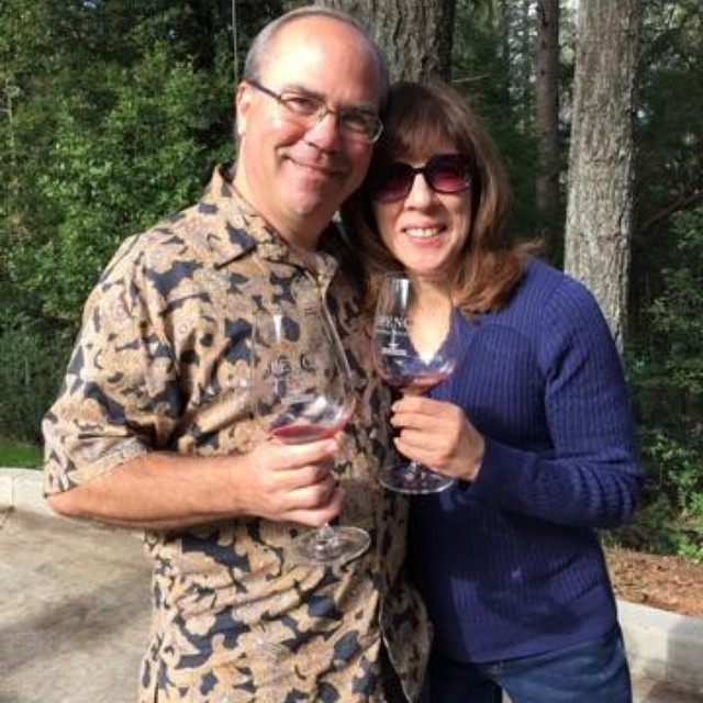 Happy Eat+Drink-ers!! @scottandlydia  (at Spence Vineyards)