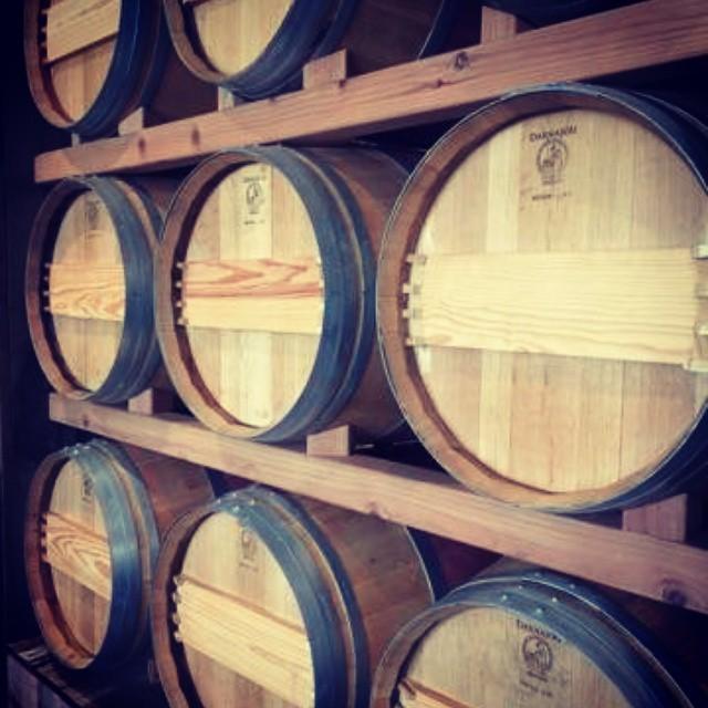 Barrels…..French Oak! (at Buccella)