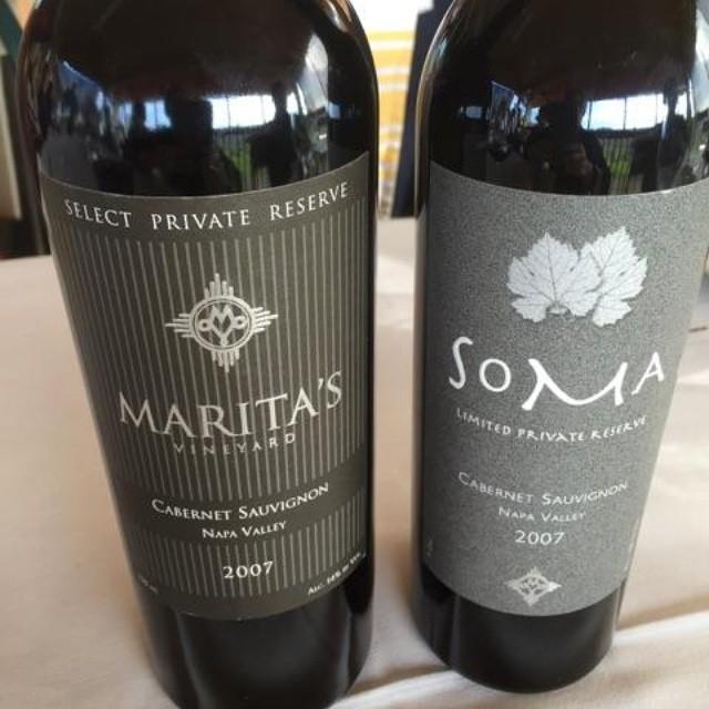 Wine tasting at Marita's! (at Maritas Vineyard)