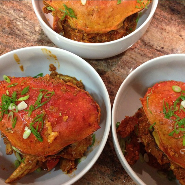 @starrykitchen's Singaporean Chili Crab - AMAZEBALLS! (at Eat+Drink Supper Club)