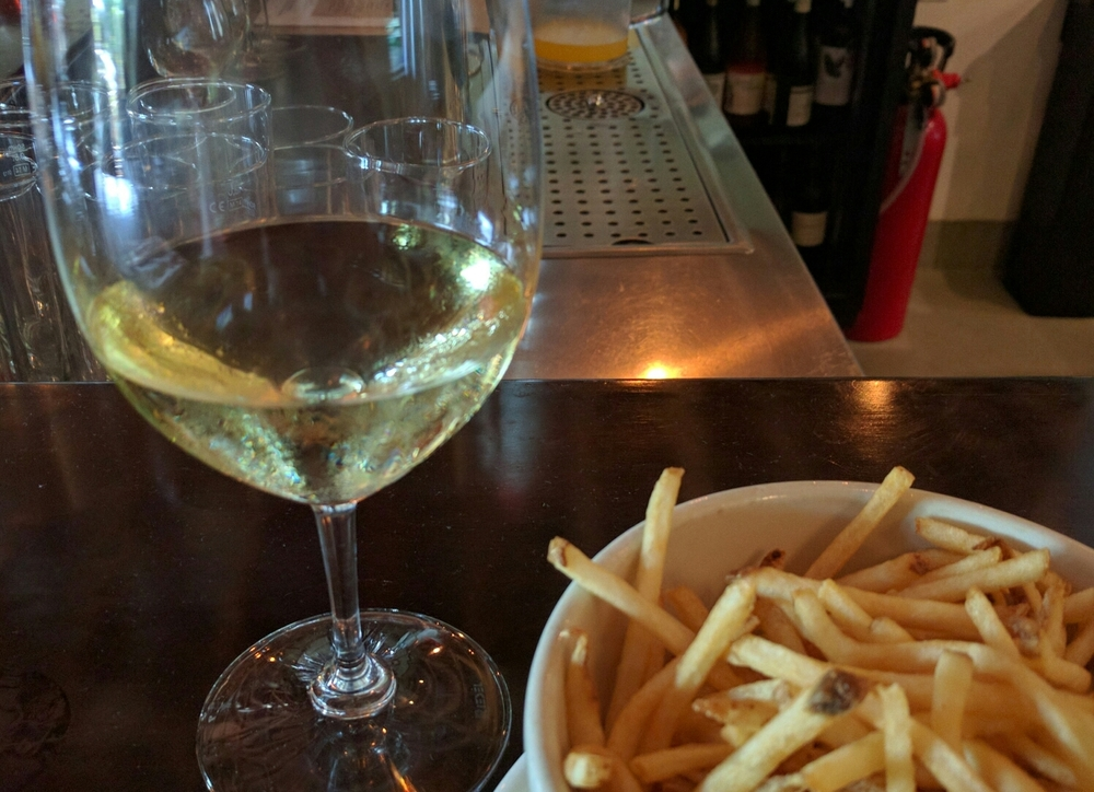 Market Provisions has an extensive wine list.