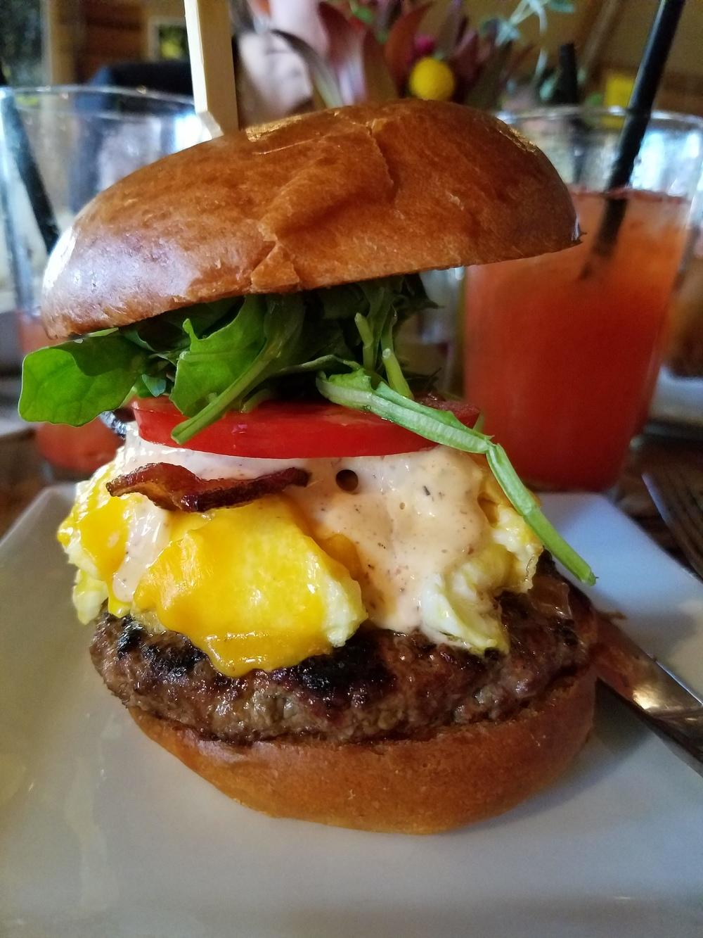 Pono Burger Breakfast Sandwich