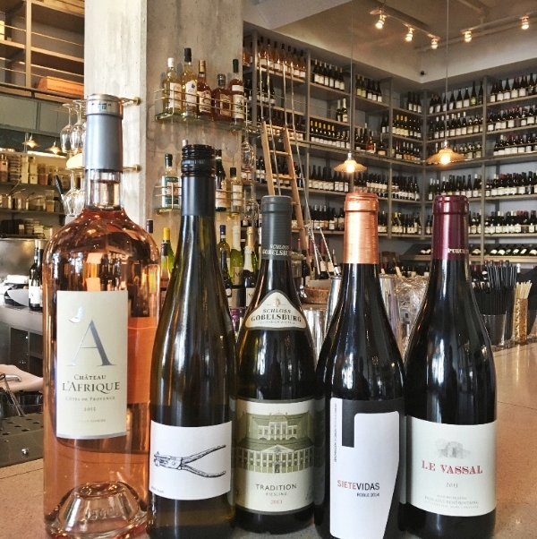Wine school!