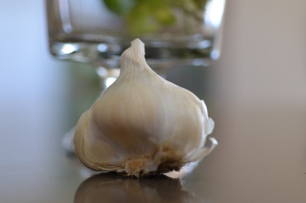 Garlic.   Always a staple.