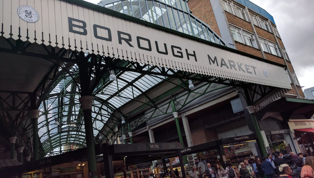 The 1850s location adjacent to London Bridge station is just the latest home for this 1000+ year old food market.