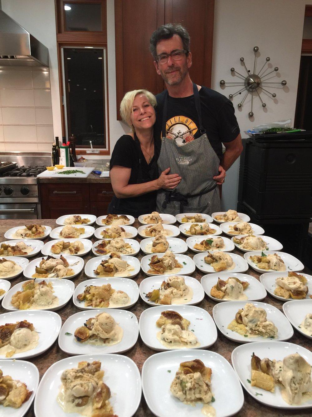 Clark Staub & Jill Davie