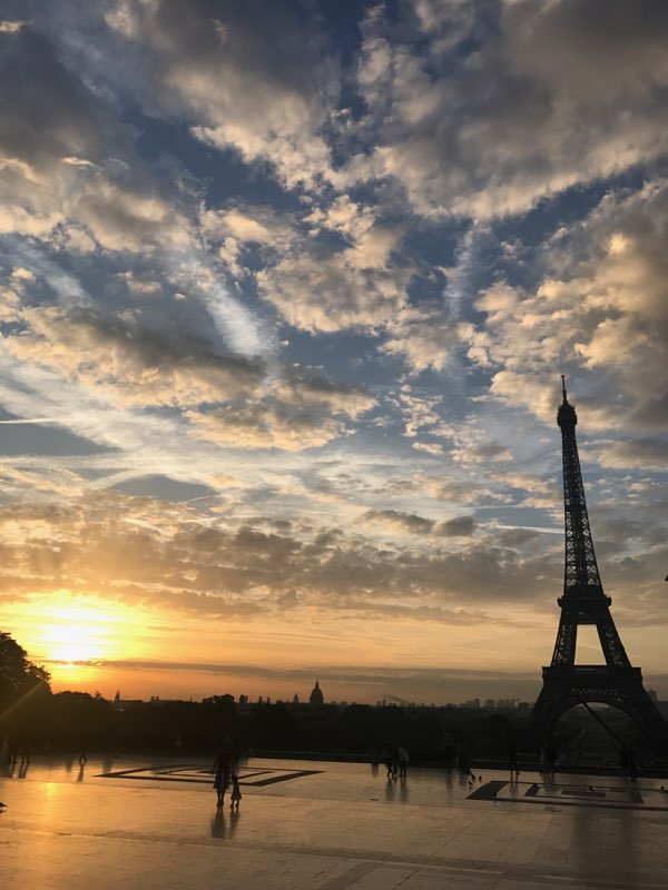Definitely - had to keep up with the fitness routine (that butter!), and I stumbled across this beauty on one of my morning runs. You can totally see how Paris quickly became one of my favorite cities to visit!