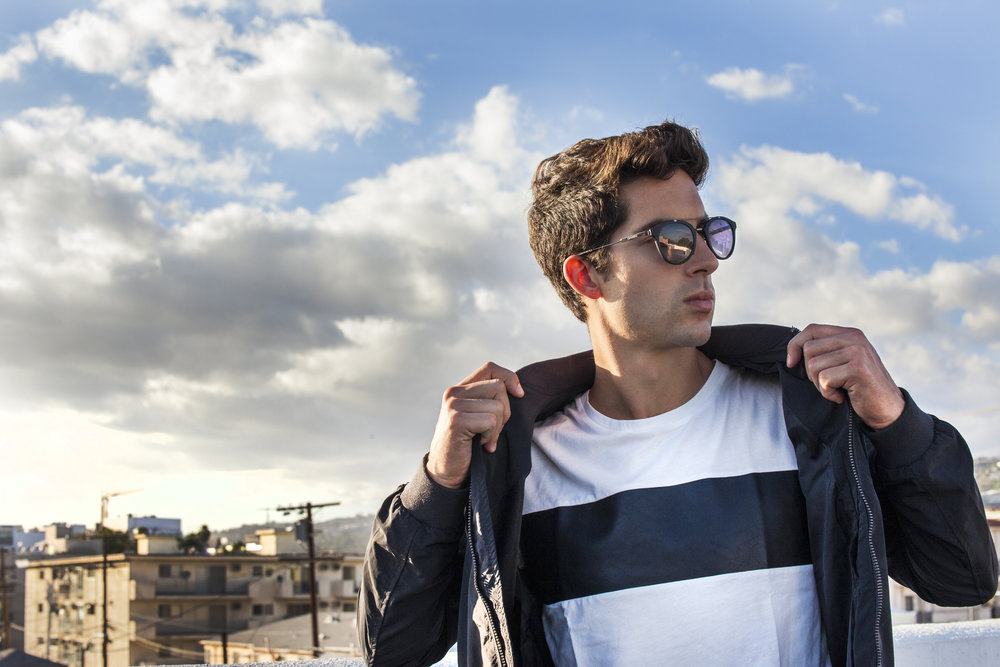 Last but not least, - these great Carrera Glasses and an H&M jacket (similar) finish off my look.