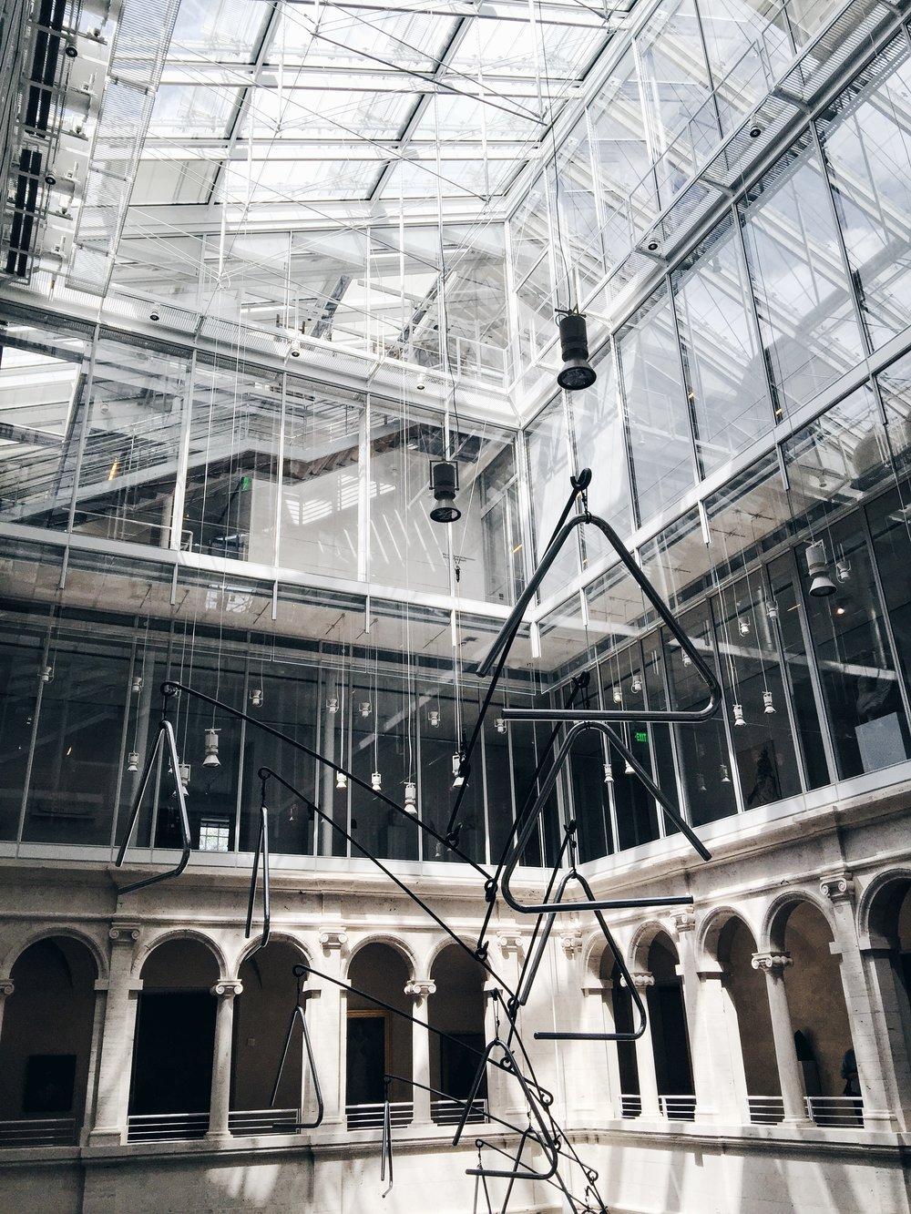 A trip to Harvard's Fogg Museum.
