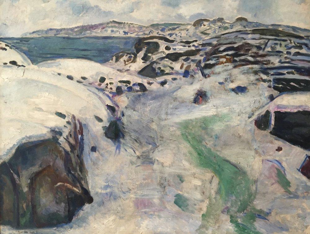 Edvard Munch at The Fogg Museum.