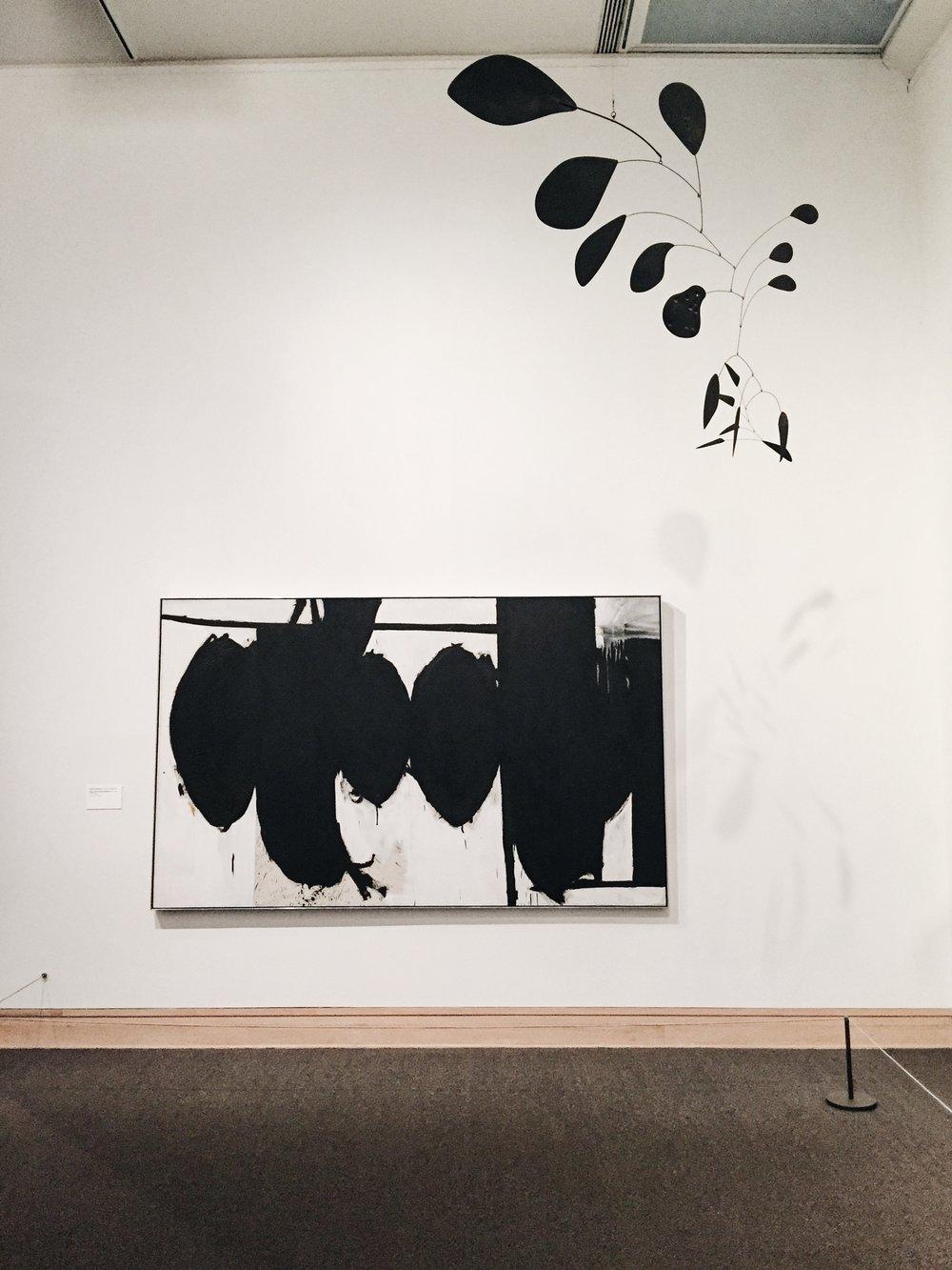 Sculpture by Alexander Calder.