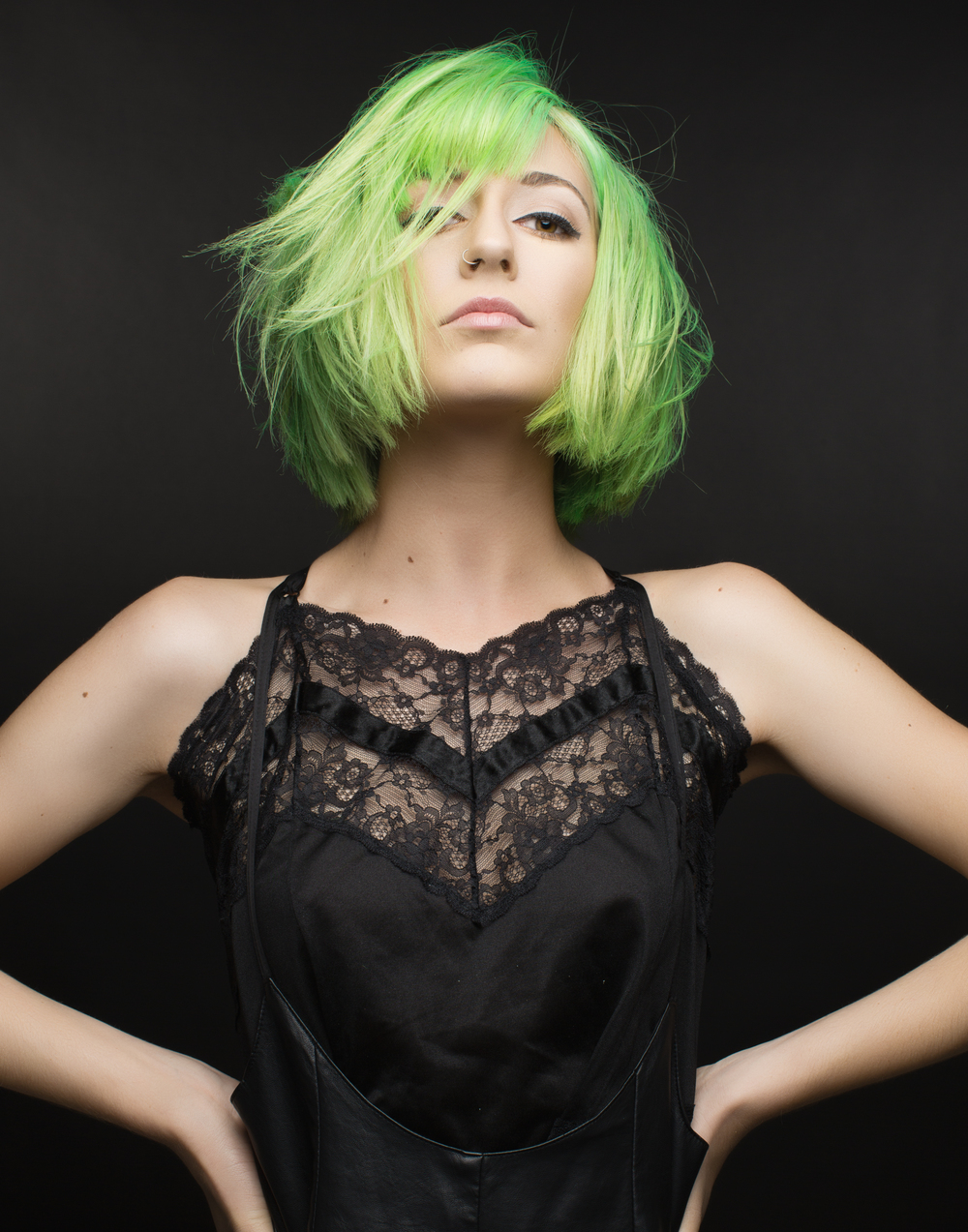 2015 TIGI Colourist of the Year - Courtney Greenday