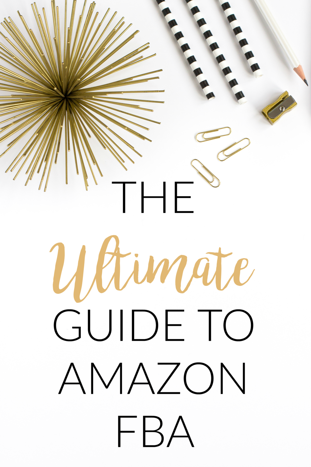 The Ultimate Guide To Amazon FBA. How to create a profitable business from home selling on Amazon FBA.