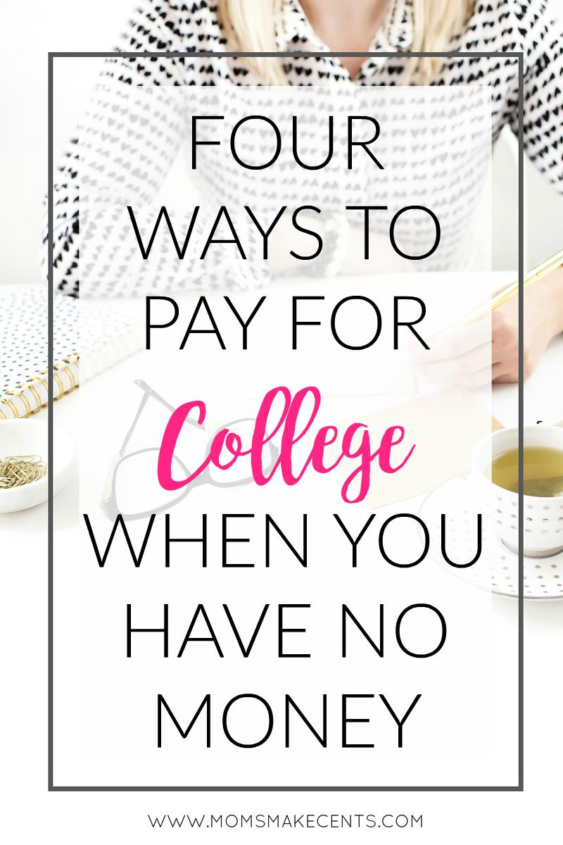 Quatro maneiras de pagar pela faculdade quando você não tem dinheiro 1