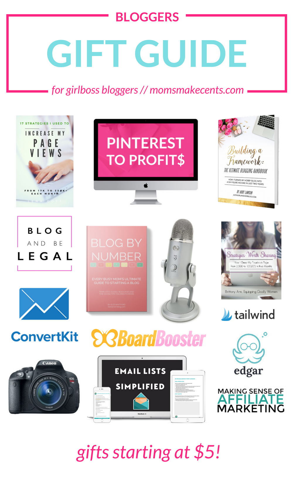 2016 Bloggers Gift Guide