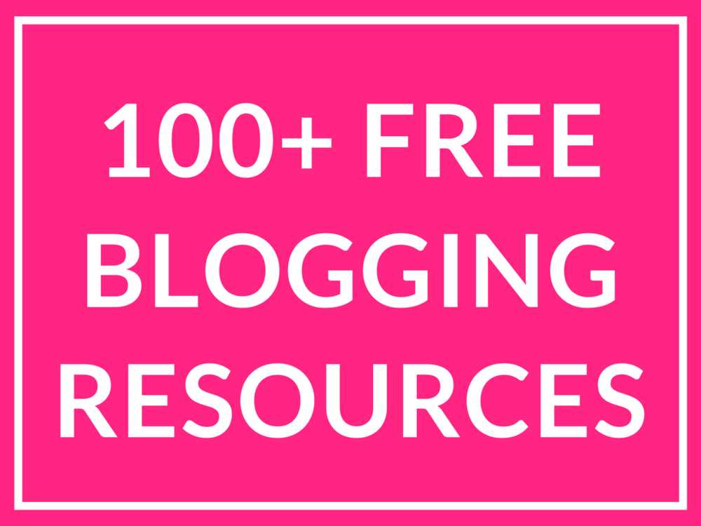 blogging-freebies