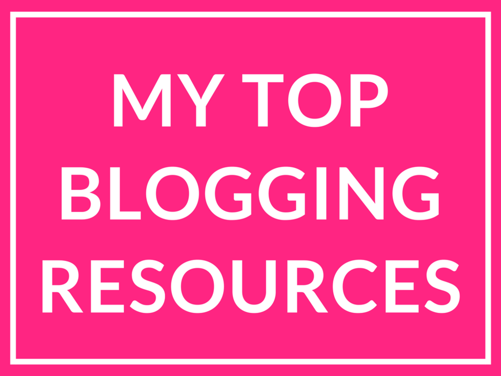 top-blogging-resources