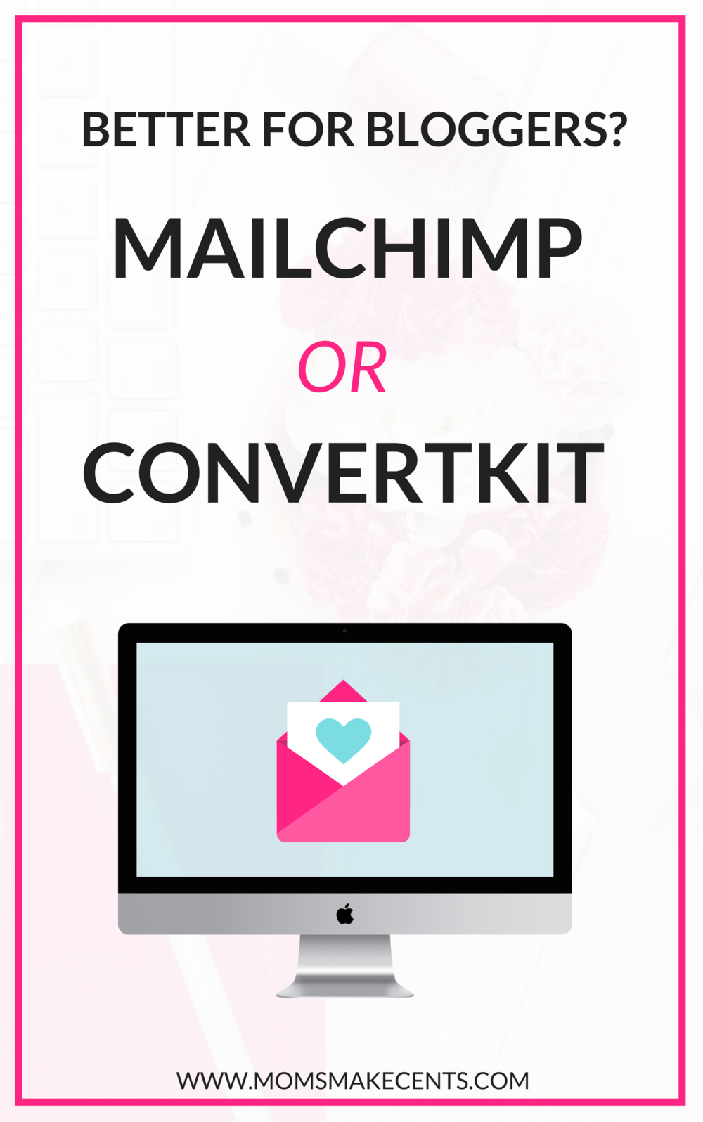 I wish I had just started with ConvertKit in the beginning! The features are so much better. I am able to send my reader what they actually want to read. Plus, I'm not being double billed like when I was on Mailchimp. So glad I read this comparison of MailChimp vs. ConvertKit.