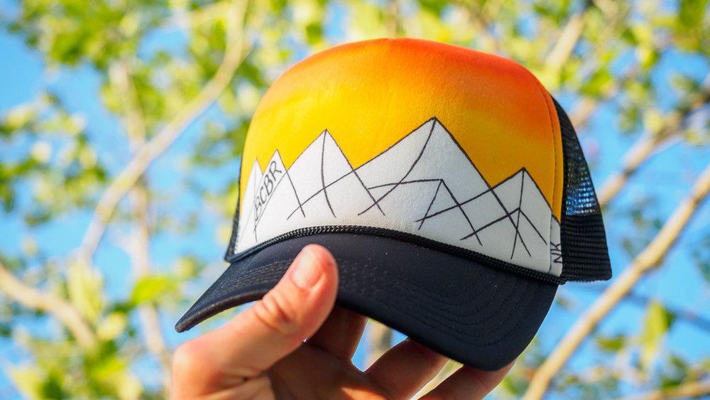 A Majestic Trucker Hat