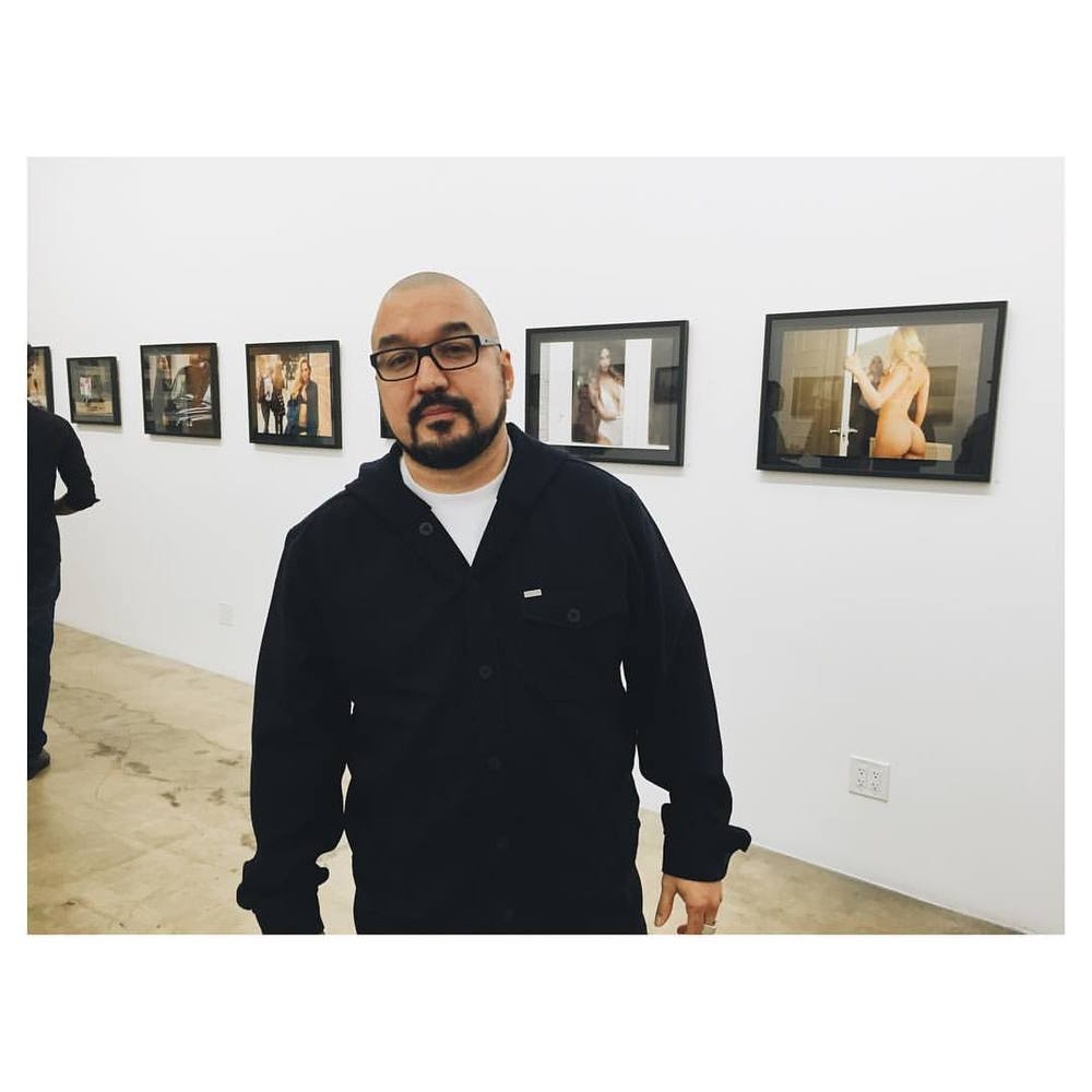 This is @justwilliet @ogwilliet When I met him he was doing bts. Now he's a renowned photographer with a fantastic body of work. He opened his first gallery show at @theseventhletter last night. It's there till December. Go check it.
