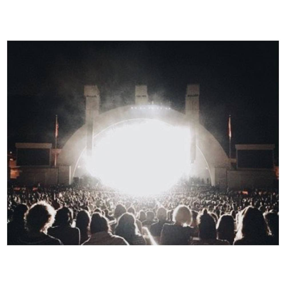 #tbt to #ALTJ at the #hollywoodbowl and how amazing they are forever goodbye.