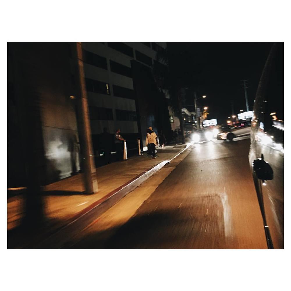 Night rides.