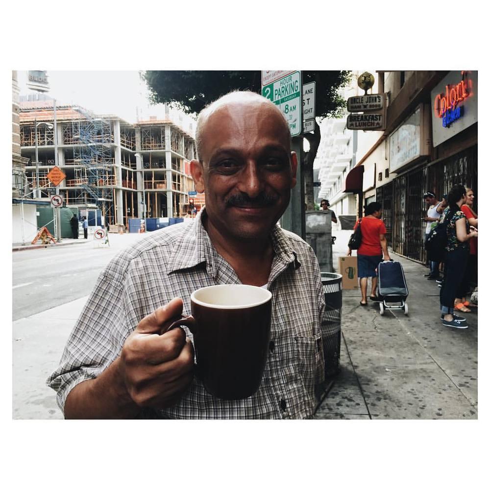 Random shop owner. DTLA. #dtla #losangeles