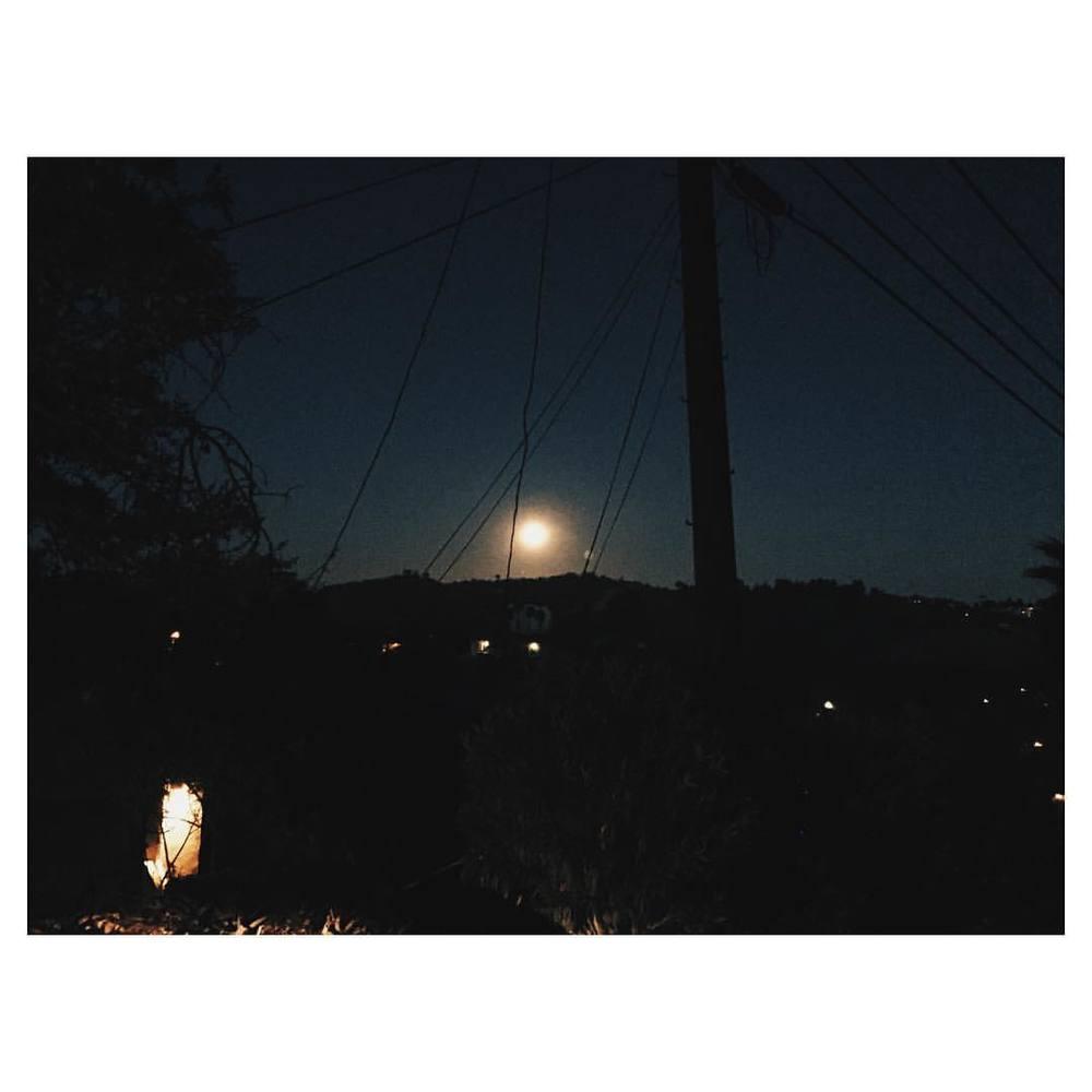 Super Moon from Mt. Washington. #supermoon #losangeles