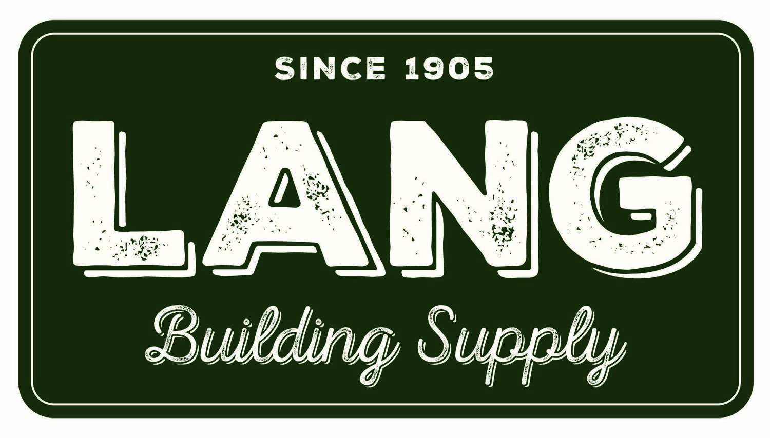 Products — Lang Building Supply