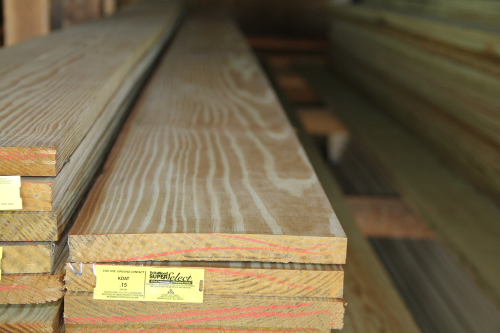 Treated Wood Products