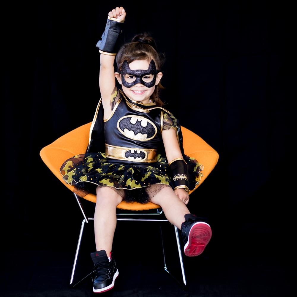 Azalynn, 3 years old Bat Girl