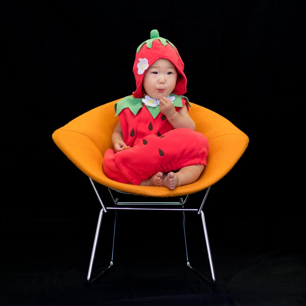 Karlie, 14 months Strawberry