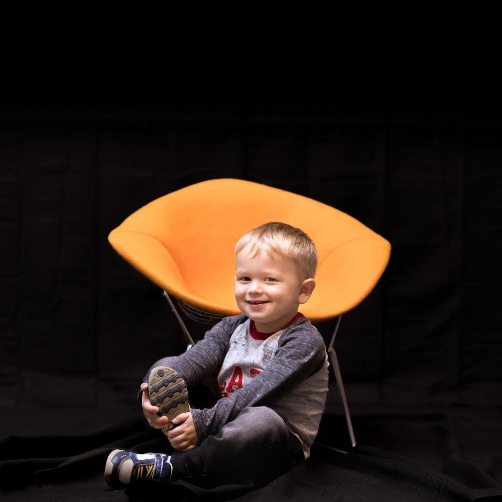 Austin, 2.5 years old Halloween Boycotter
