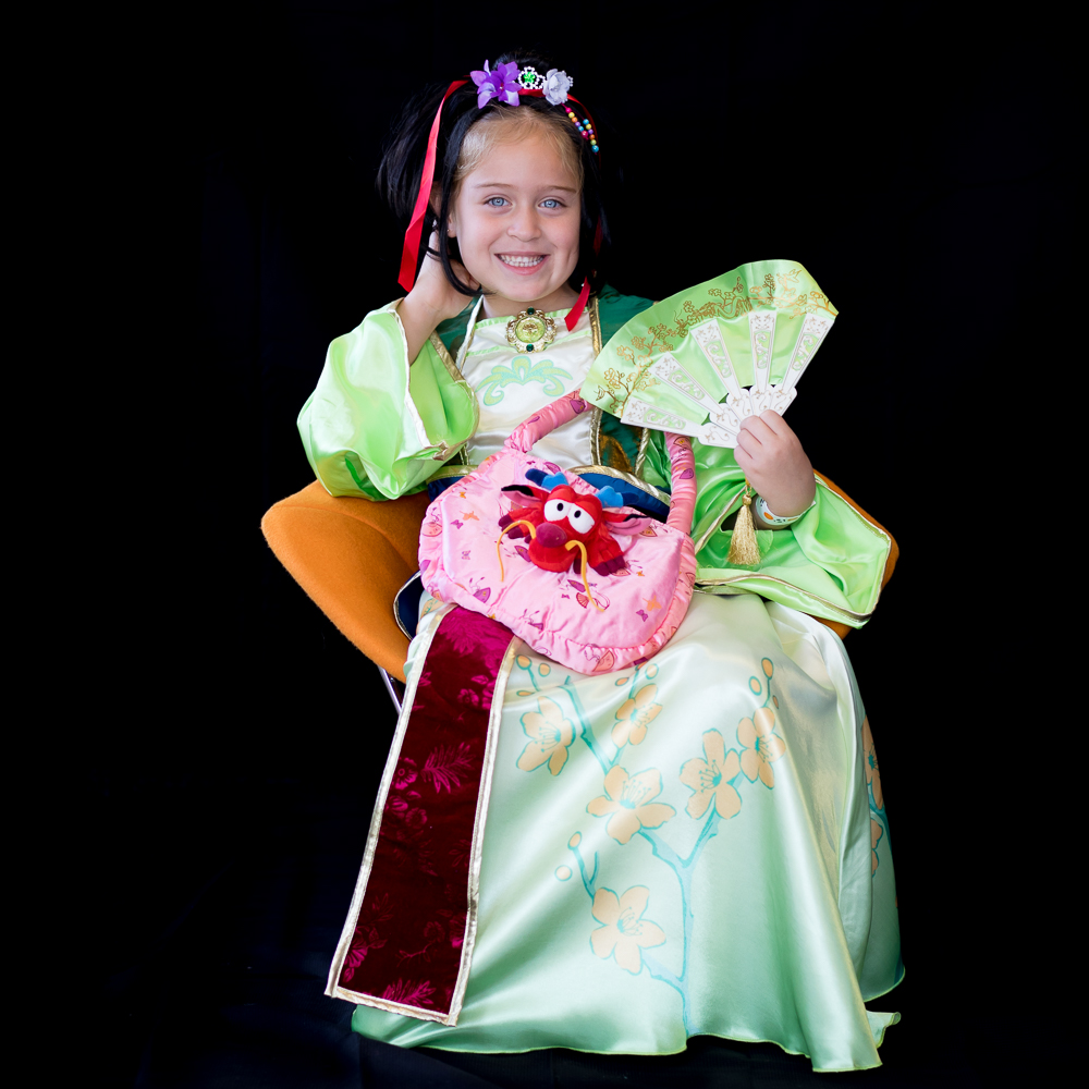 Darby, 6 years old Mulan