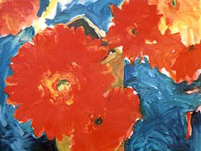 """Aura 30""""x30"""" Oil on Canvas"""