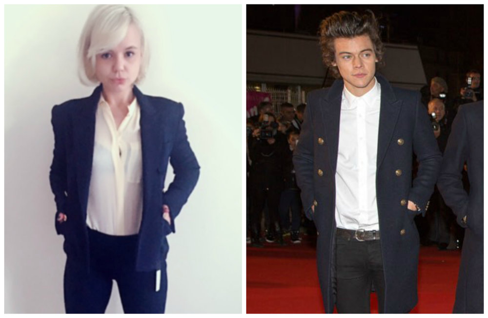 Alana Massey Harry Styles Navy With Gold Buttons.jpg