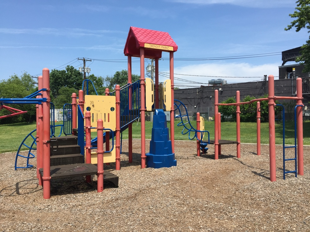 Playground at Benoit Park