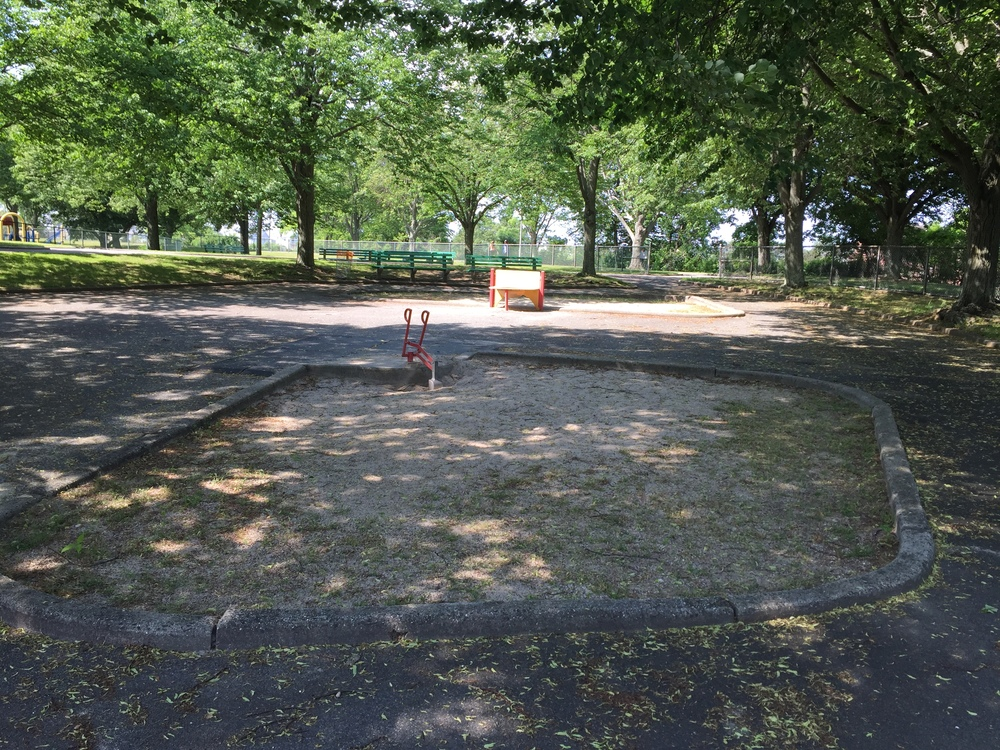 Playground at Seamans Neck Park