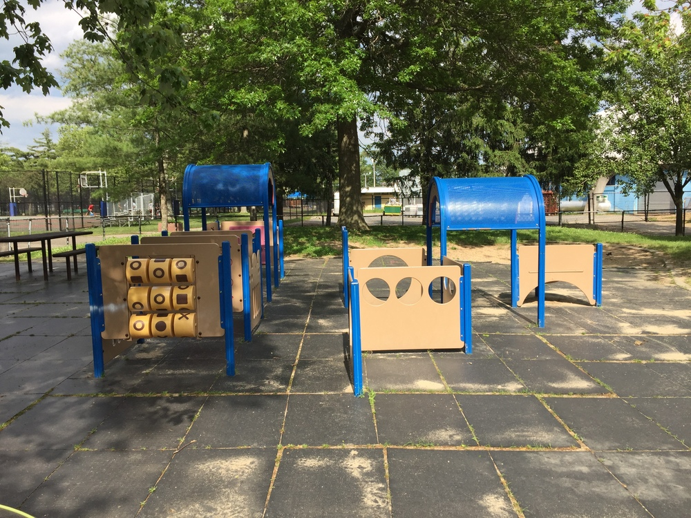 Playground at Cantiague Park