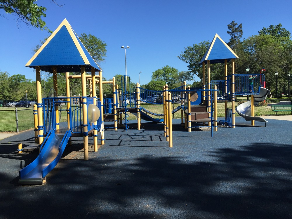Front playground at Marjorie Post